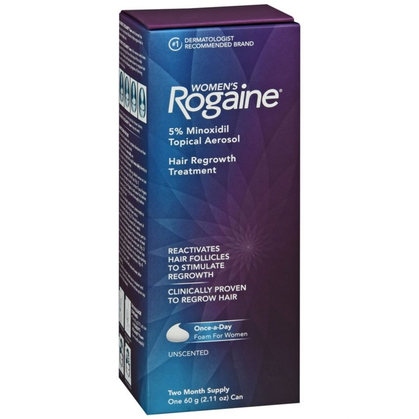 Rogaine Women's Hair Regrowth Treatment Foam Unscented - 2.11 OZ